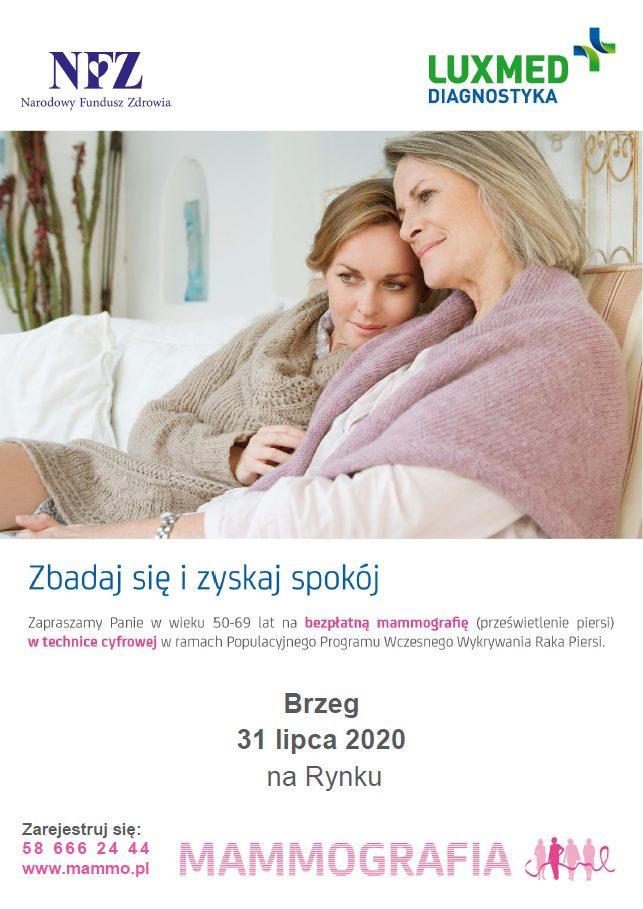 Mammografia Brzeg - Zapraszamy Na Bezpłatne Badania Mammograficzne