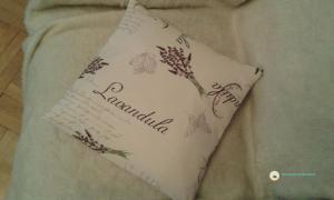 poszewka na poduszkę z wzorem lawendy