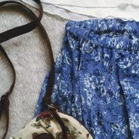 Przeróbka maxi sukienki