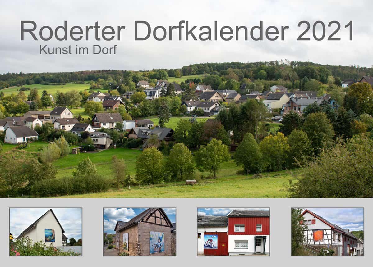 Deckblatt Roderter Dorfkalender