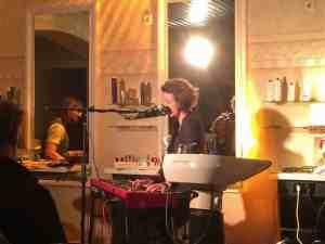 Konzert im Friseursalon