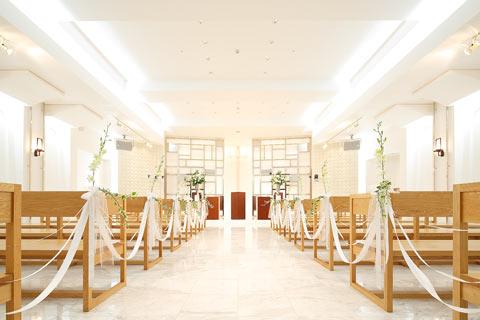 ホテルニューオウミ 結婚式チャペル