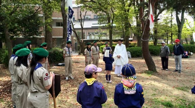 【春の入隊・上進式記念】御殿山神社さくら植樹祭【緑の募金事業】