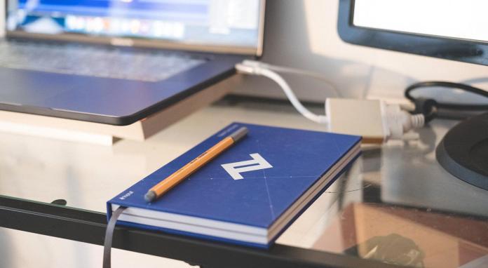 Remote working freelance designer