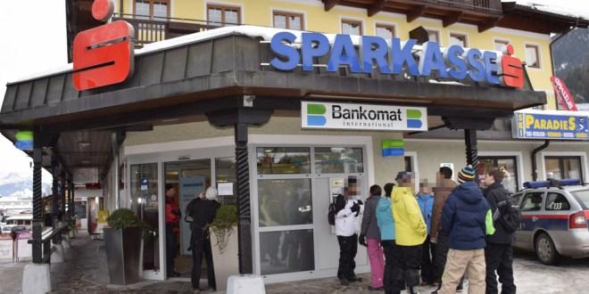 Pärchen verübte in Ellmau mit Spielzeugpistole Banküberfall