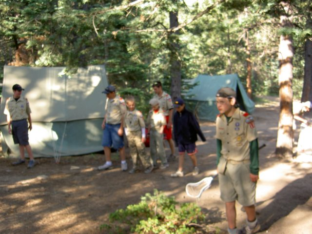 Boy Scout Troop 16  Parker Colorado  Spanish Peaks Scout Ranch Summer Camp 2008 Day 7