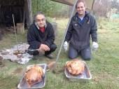 Trashcan turkey