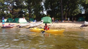 Perfecting kayak skills