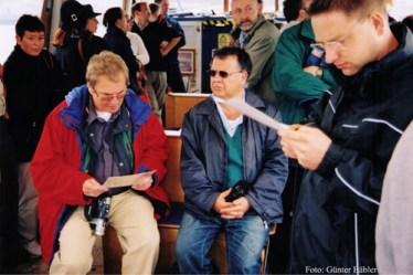 Lotti Reber, Rolf-Werner Baak, Fredy Aufranc und Oliver Schwarz.