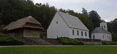 Das Geburtshaus von Nicola Tesla in Smiljan, heute ein Museum.