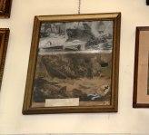 Titanic ex-voto-Tafel an einer Wand in der Kapelle von Trsat.