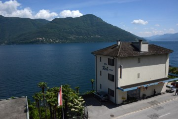 Der Blick vom GV-Ort aus auf den Lago Maggiore