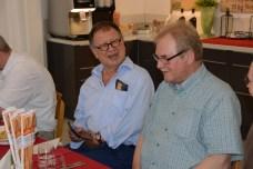 Fredy Aufranc und Rolf-Werner Baak