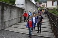 Ausflug zur Gedenktafel von Narciso Bazzi auf dem neuen Friedhof