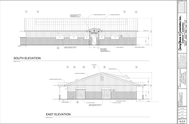 A2.0 - ELEVATION 412