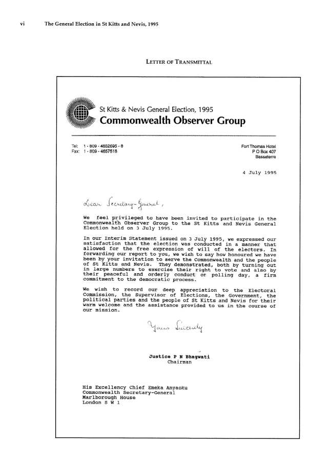 Report_of_the_Commonwealth_Observer_Group_on_the_General_Election_in_SKN_3_July_1995_Page_06