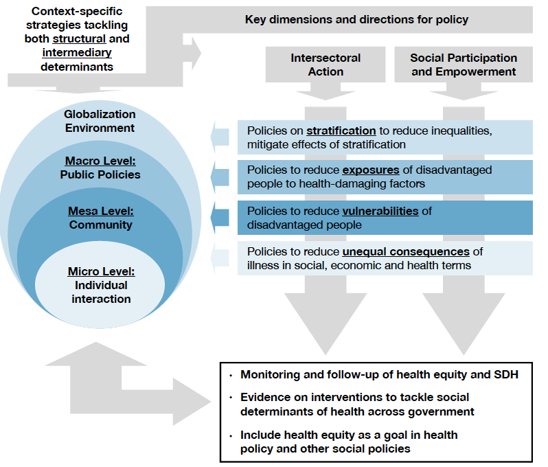 A conceptual framework for action on the social determinants of health