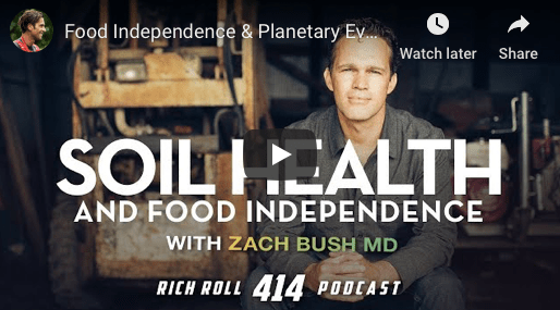 GMOs, Glyphosate & Gut Health & Food Independence & Planetary Evolution: Zach Bush, MD | Rich Roll Podcast