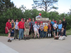 BSA Troop 469 - Highway cleanup