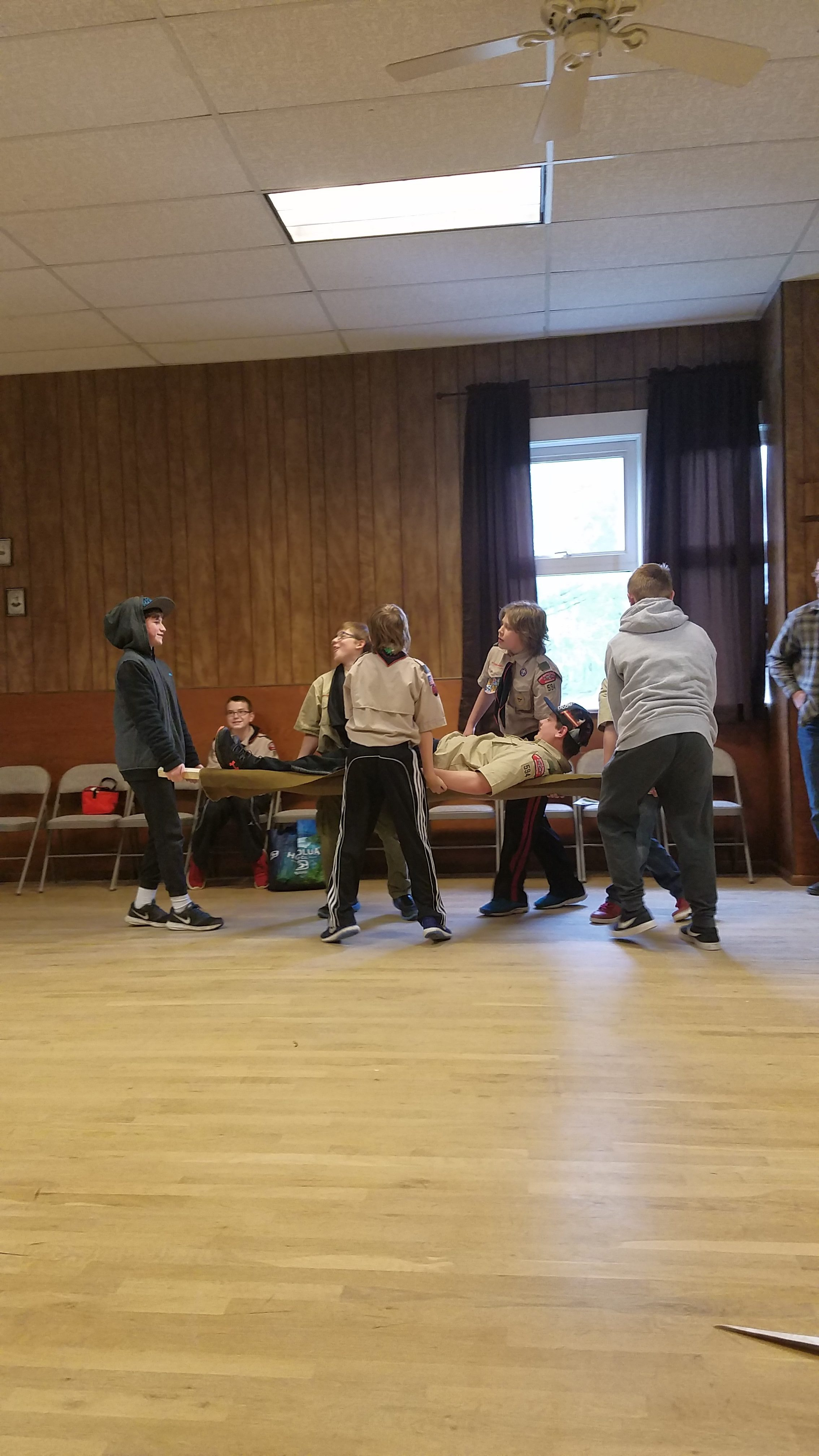 First Aid Merit Badge Day At The Grange April 22