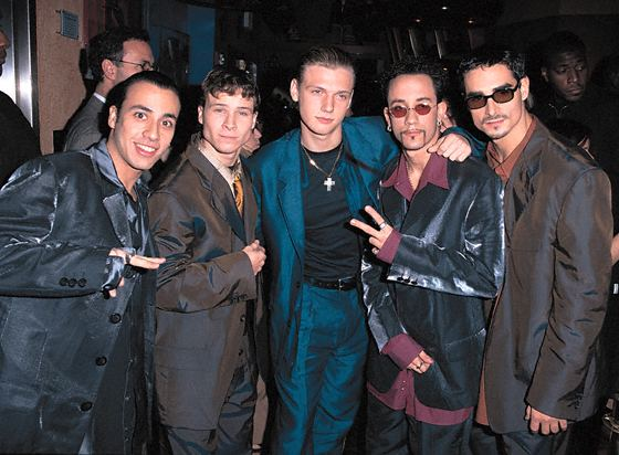 Throwback Thursday:1996 Smash Hits Poll Winners Party and a @BackstreetBoys performance!