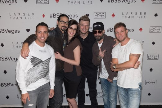 Concert shoes and how to feel fabulous at a Backstreet Boys event