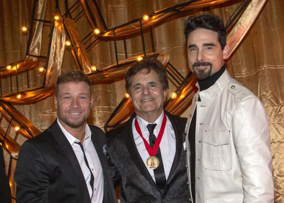 News: @Brian_Littrell, @KevinRichardson induct Gary Baker into Hall of Fame