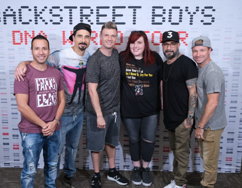 Thoughts: During this Covid-19 crisis, @BackstreetBoys keeps me hanging on