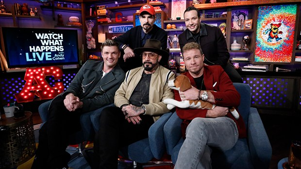 """Video: @BackstreetBoys take over """"Watch What Happens Live"""""""