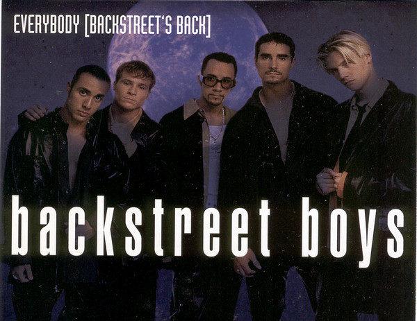 "Happy 23rd birthday to @BackstreetBoys' ""Everybody!"""