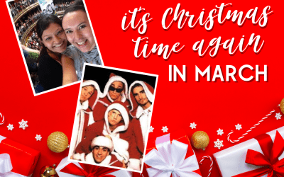 It's Christmas Time Again for @BackstreetBoys … in March!