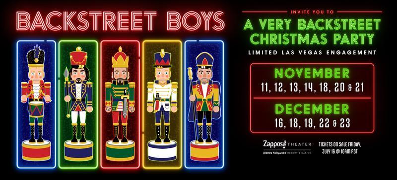 A Very Backstreet Christmas Party – New Las Vegas Show