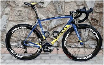 Specilized Tarmac do Contador - para subir melhor (teoricamente)