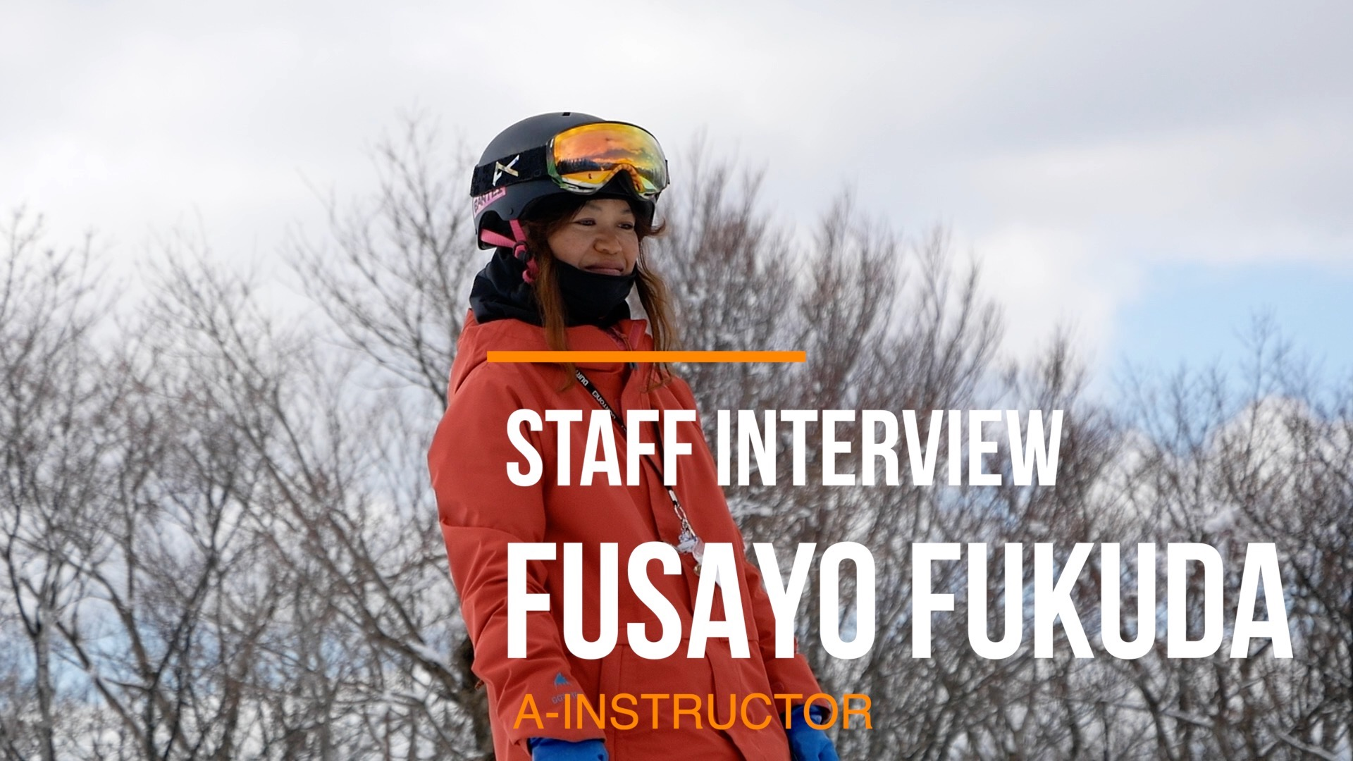 STAFF INTERVIEW [FUSAYO FUKUDA]