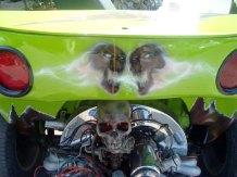 Moto Triciclo Calaveras 01