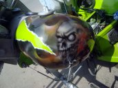 Moto Triciclo Calaveras 09