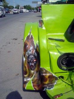 Moto Triciclo Calaveras 03