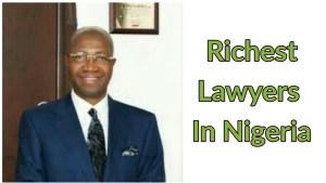 Richest lawyers in nigeria
