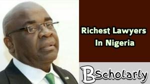 Wealthiest lawyer in Nigeria