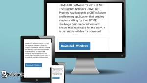 JAMB practice application