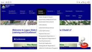 LASU acceptance fee price and how to pay