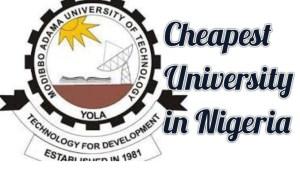 cheapest university in Nigeria