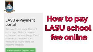 LASU school fees for 2019/2020