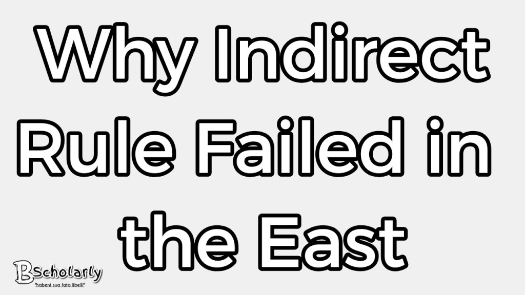 why Indirect Rule Failed in Eastern Nigeria