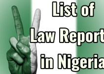 List of law reports in Nigeria