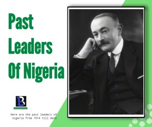 colonial leaders who ruled Nigeria