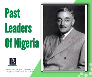first military head of state in nigeria