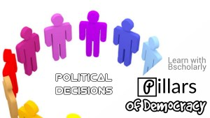 Seven pillars of a democratic government