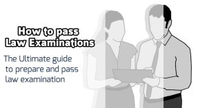 how to pass law examinations