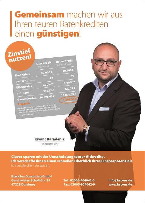 Finanzberater Kivanc Karadeniz Duisburg